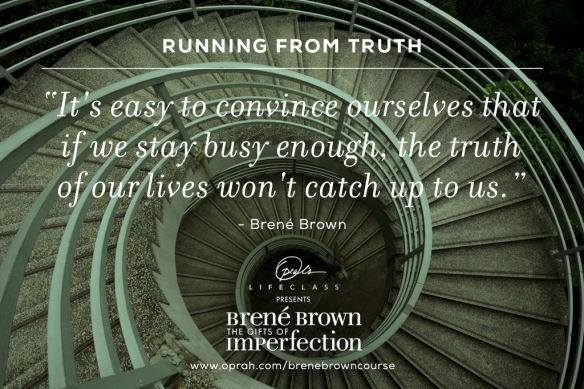 Don't run from the truth!