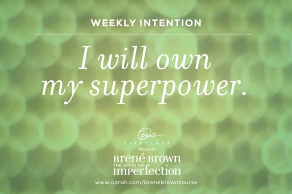 I am superwoman!