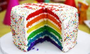 Mmm...birthday cake