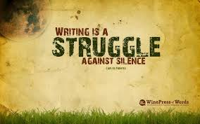 Writing is a struggle